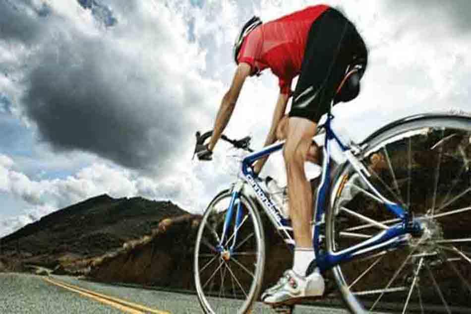 Cyclist warning